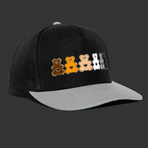 Bärenlust Regen-Bären-Bogen Bären-Reihe - Snapback Cap