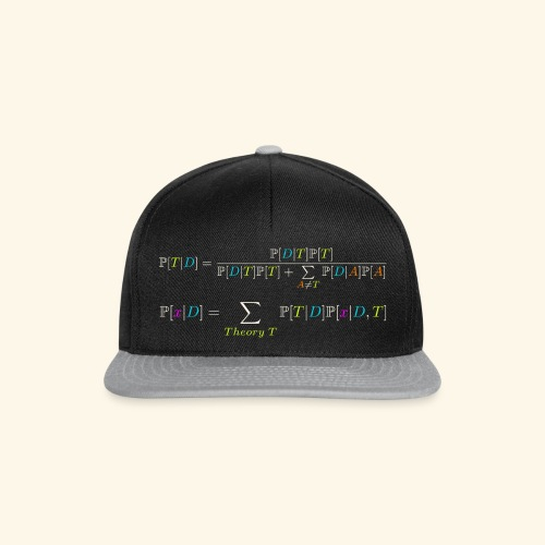 Bayesianism Equations - Casquette snapback