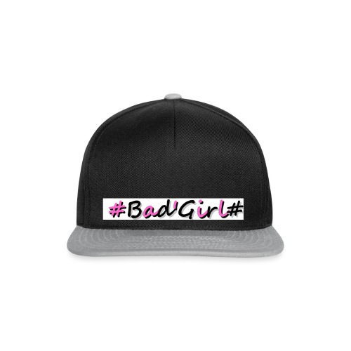 Collection Hastag bad girl - Casquette snapback