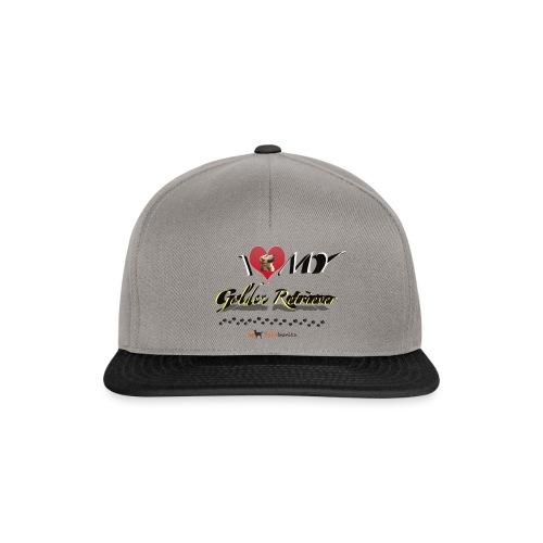 I Love my Golden Retriever - Snapback Cap