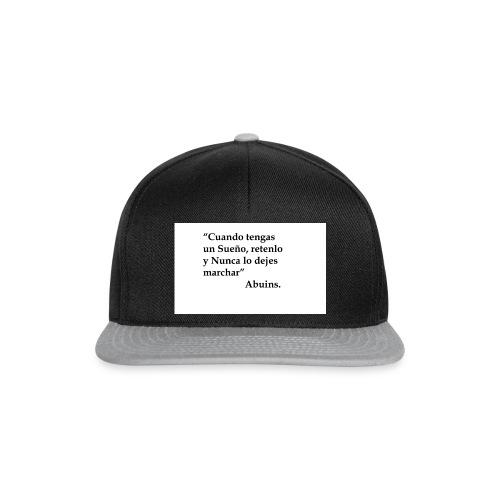 Frase camiseta Abuins 2 editado 1 - Gorra Snapback