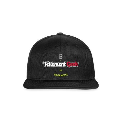 Tellement Geek Logo - Casquette snapback