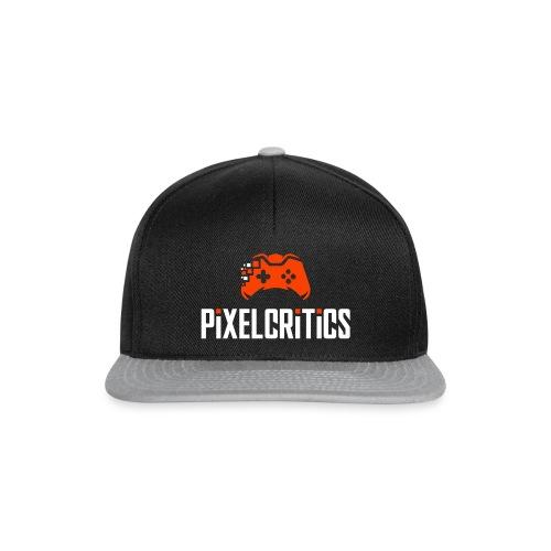 Pixelcritics Logo Dunkel - Snapback Cap