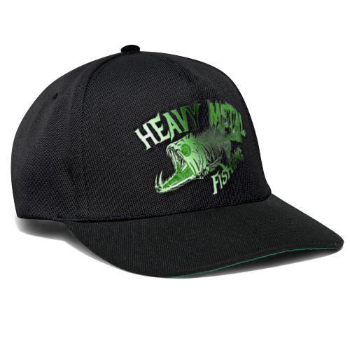 heavy metal alien - Snapback Cap