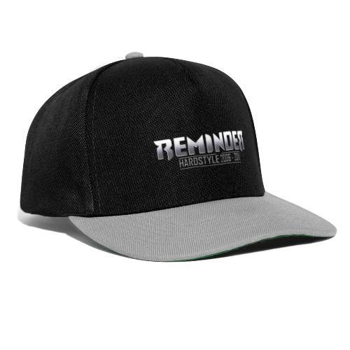reminder logo 06 11 - Snapback cap