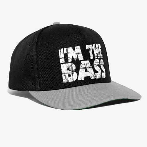 I'm the Bass Vintage White - Snapback Cap