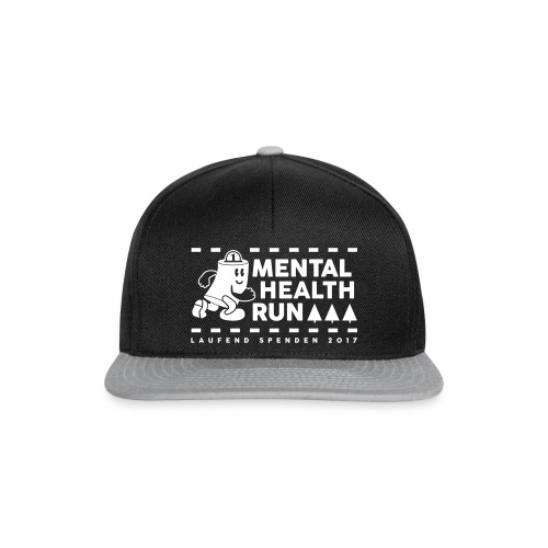 mental healt run - Snapback Cap