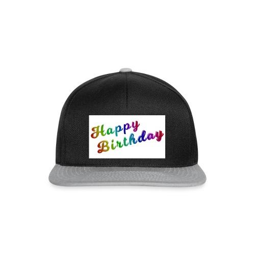 Milchschake Text - Style - Snapback Cap