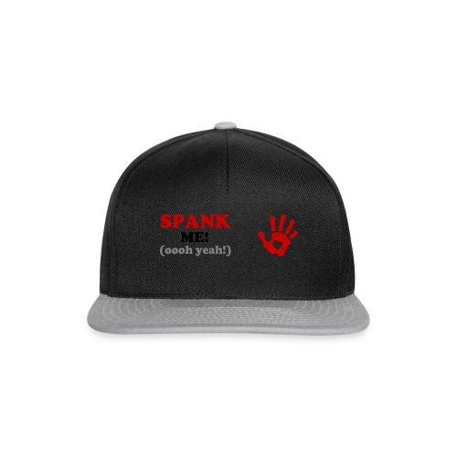 spank me - Snapback Cap