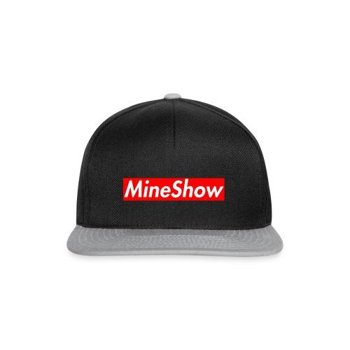 MineShow Box-Logo - Snapback Cap