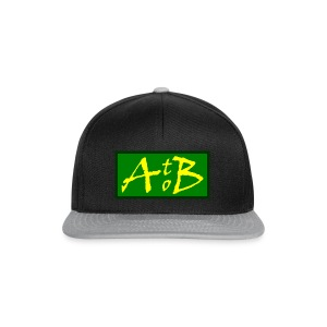 AtoB Logo green / yellow - Snapback Cap
