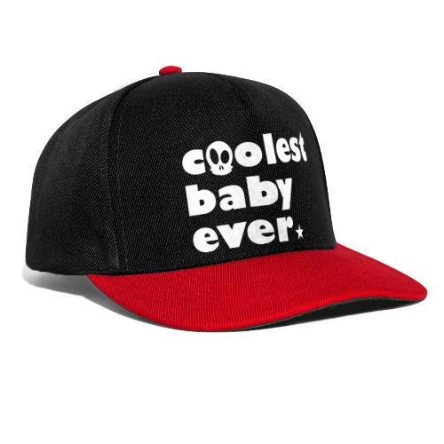 Coolest Baby ever - Snapback Cap