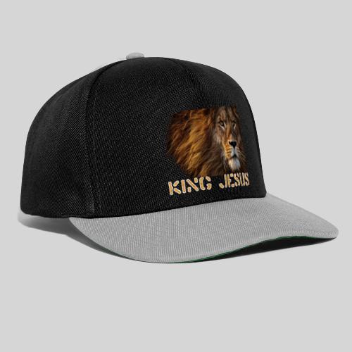 König Jesus der Löwe von Juda - Snapback Cap