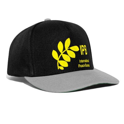 International Peace Bureau IPB Logo - Snapback Cap