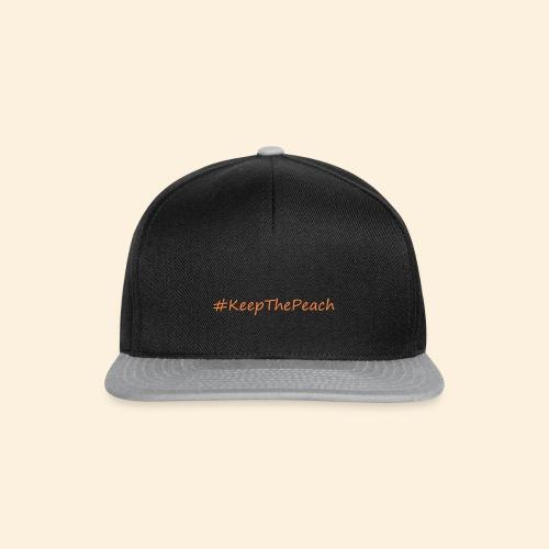 Hashtag KeepThePeach - Casquette snapback