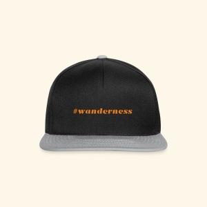 wanderness_orange - Snapback Cap