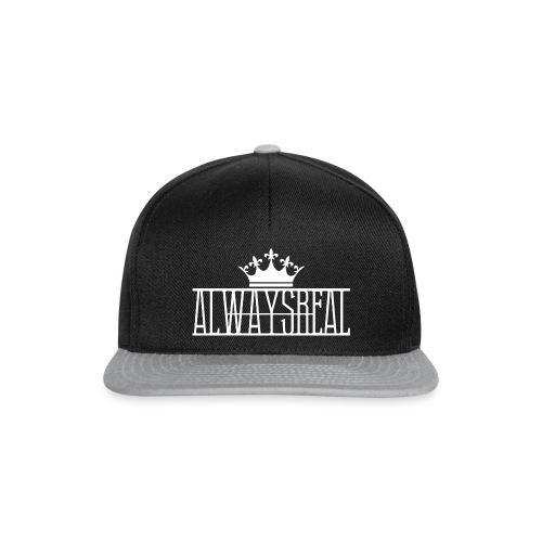AlwaysReal Weiss - Snapback Cap