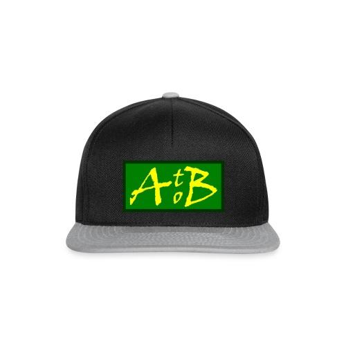 AtoB Logo green / yellow - Snapback Cap