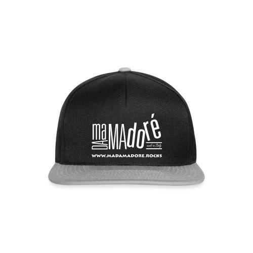 T-Shirt Premium - Uomo - Logo Bianco S + Sito - Snapback Cap