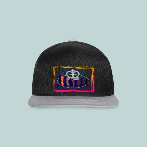 figurensatz_vor_brett - Snapback Cap
