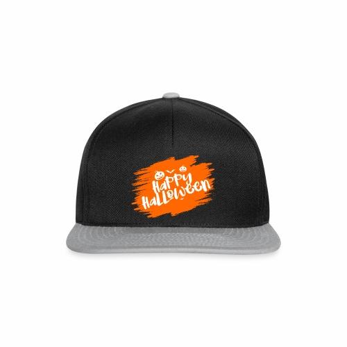 Cooles Happy Halloween Design als Geschenk / Idee - Snapback Cap