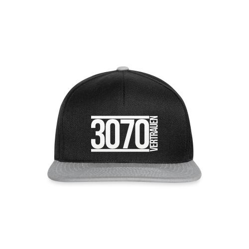 3070-vertrauen_logo-big - Snapback Cap