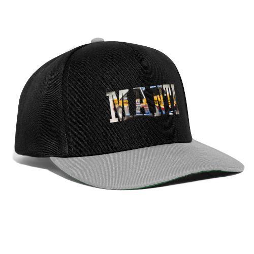 Manta Word design - Snapback cap