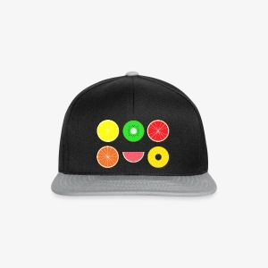 DIGITAL FRUITS - Digitale Hipster Früchte - Snapback Cap