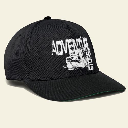 Adventure white - Snapback Cap