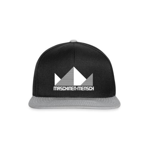 Maschinen-Mensch Logo black - Snapback Cap