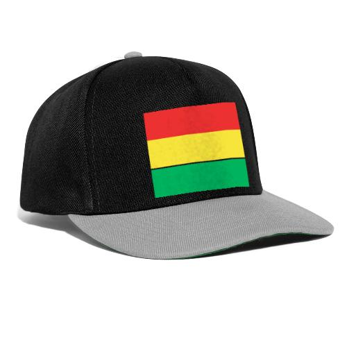 ROOD GEEL GROEN CARNAVAL - Snapback cap