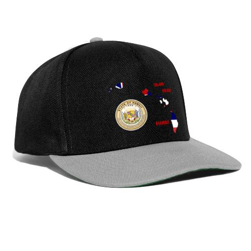 Hawaii Holiday Island - Snapback Cap
