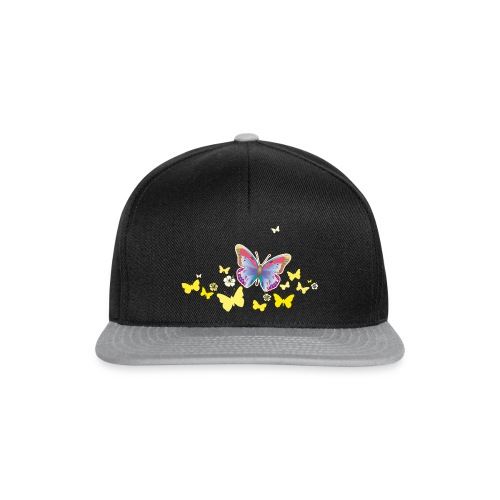 Schmetterlinge Falter Insekten Frühling Sommer - Snapback Cap