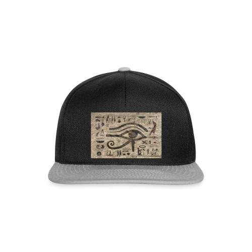 Horusauge I Hieroglyphe - Snapback Cap