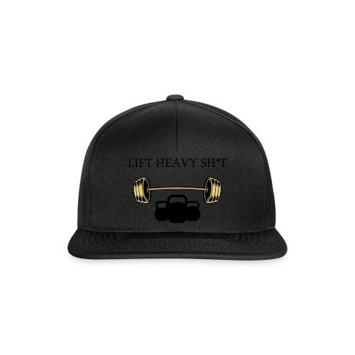 LIFT HEAVY SHIT - Snapback Cap
