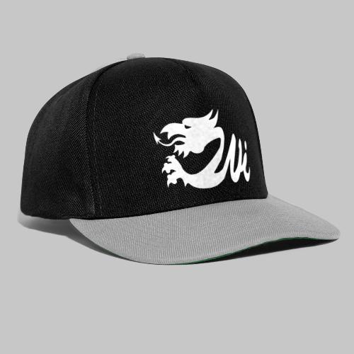 Wales Interactive Logo Dragon White - Snapback Cap