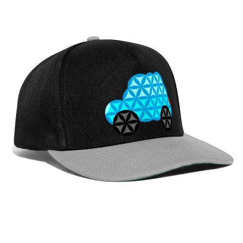 The Car Of Life - 01, Sacred Shapes, L/Blue. - Snapback Cap