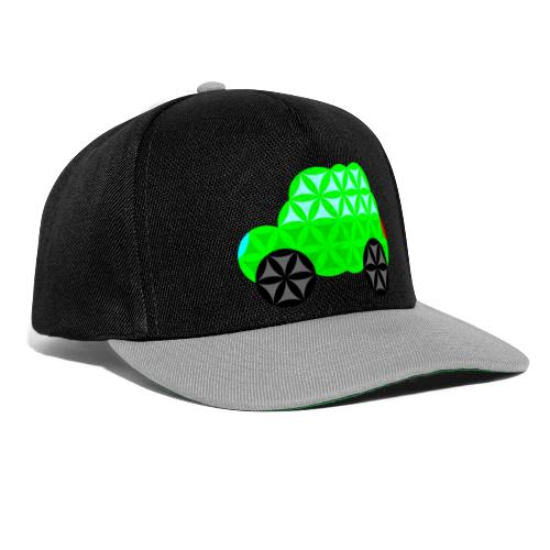 The Car Of Life - M01, Sacred Shapes, Green/R01. - Snapback Cap
