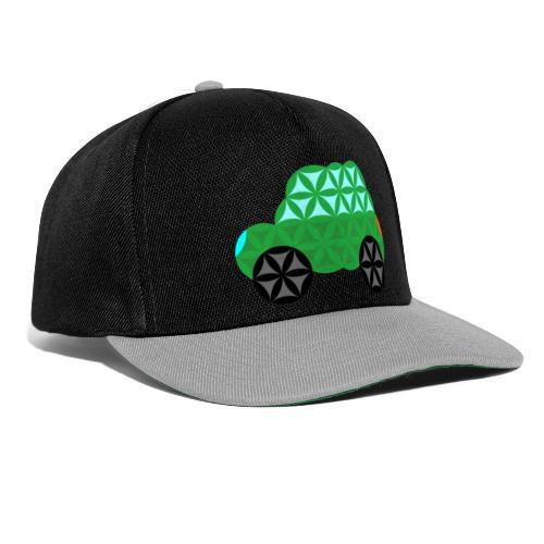 The Car Of Life - M01, Sacred Shapes, Green/363 - Snapback Cap