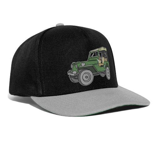 Grüner Geländewagen SUV - Snapback Cap