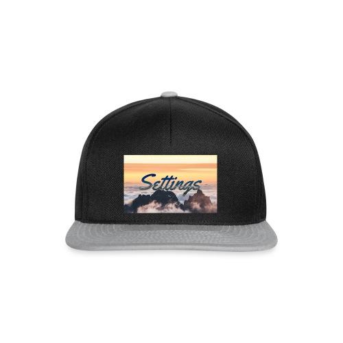 Settings Clouds - Snapback Cap