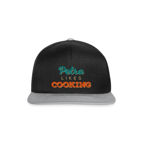 Petra Likes Cooking - Snapback Cap