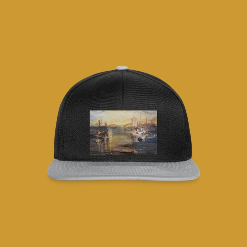 White Fishing - Mark Noble Art - Snapback Cap