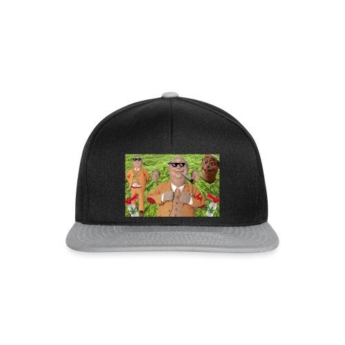 lazymoinnngroß Kopie Kopie png - Snapback Cap