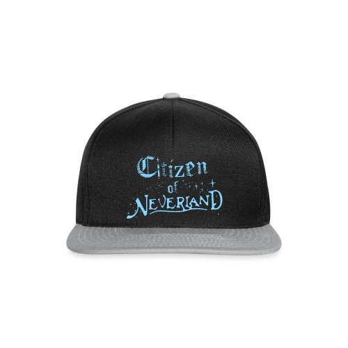 Citizen_blue 02 - Snapback Cap