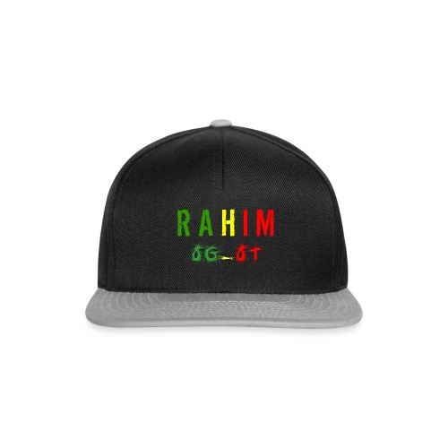 t-shirt design Rahim - Casquette snapback