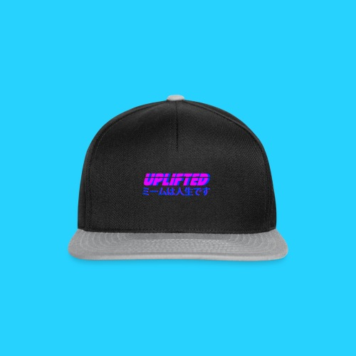 Uplifted with japanese lettering - Snapback Cap