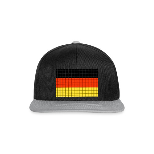 german flag.png - Snapback Cap