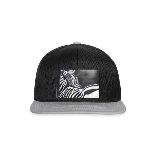 creation zebre fait main - Casquette snapback