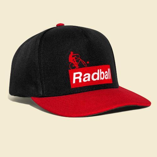 Radball   Red - Snapback Cap
